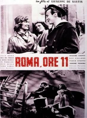 Roma a las 11 - Poster Italie