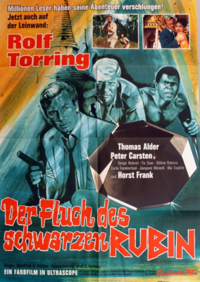 Operación Rubí Negro - Poster Allemagne
