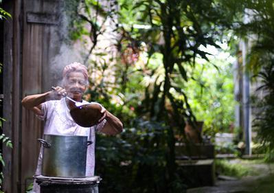 Soup a pyé (Soupe créole)