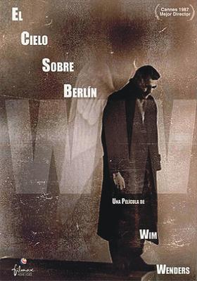 El Cielo sobre Berlín - Poster Espagne