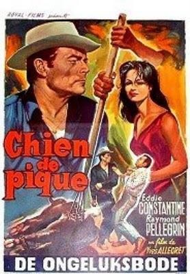Chien de pique - Poster Belgique