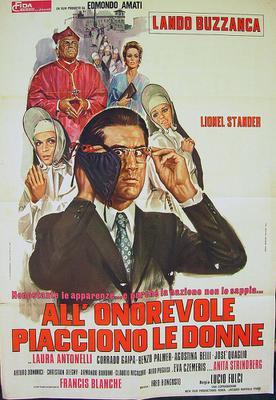 Al senador le gustan las mujeres - Poster - Italie