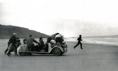 Les Quatre Cents Coups - Photogrpahie de tournage.