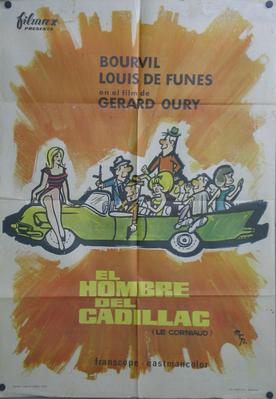 El Hombre del Cadillac - Poster Espagne
