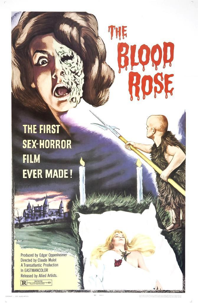 La Rose écorchée - Poster Etats-Unis