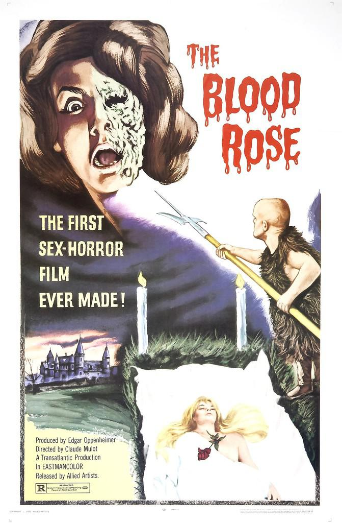 The Blood Rose - Poster Etats-Unis