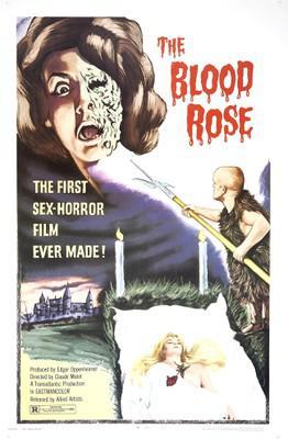 The Blood Rose - Poster Etats-Unis