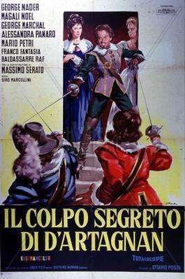 El Golpe secreto de D'Artagnan - Poster Italie