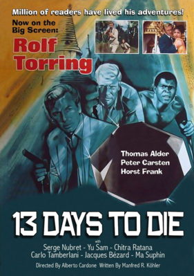 13 Days to Die - Jaquette DVD Etats-Unis