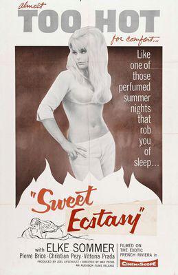 Sweet Violence / Sweet Ecstasy - Poster Etats-Unis