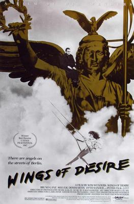 El Cielo sobre Berlín - Poster Etats-Unis