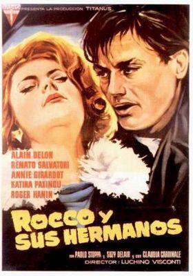 Rocco et ses frères - Poster Espagne