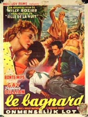 Le Bagnard - Poster Belgique