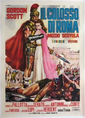 Hero of Rome  - Poster - Italy