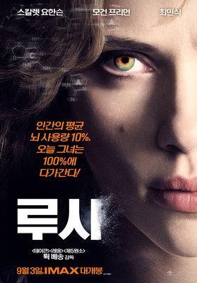 Lucy - Poster - Corée du Sud