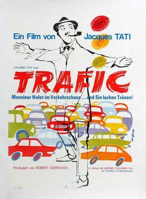 Trafico - Affiche allemande