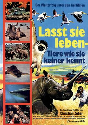 Laissez-les vivre ! - Poster - Germany