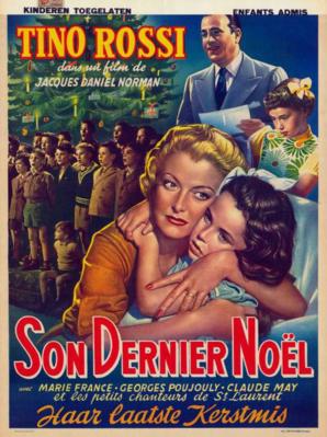 Son dernier Noël - Poster Belgique