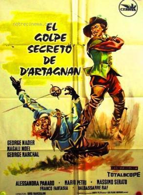 El Golpe secreto de D'Artagnan - Poster Espagne