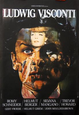ルートヴィヒ - Poster - Réédition France