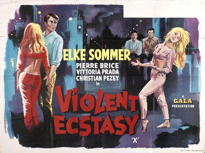 Douce Violence - Poster Royaume-Uni