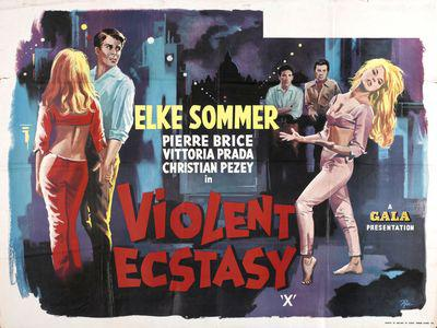 Sweet Violence / Sweet Ecstasy - Poster Royaume-Uni