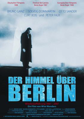 El Cielo sobre Berlín - Poster Allemagne