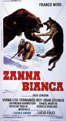Croc Blanc - Poster - Italie