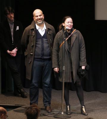 Portfolio - Marc Fitoussi et sa productrice Caroline Bonmarchand - © Bestimage