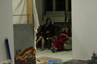 Un soir dans l'atelier de mes parents