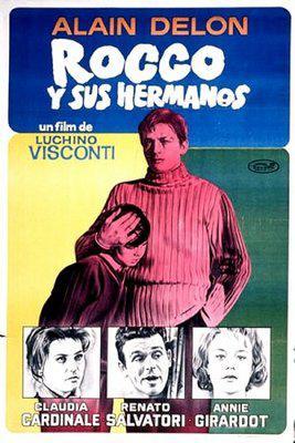Rocco et ses frères - Poster Espagne2