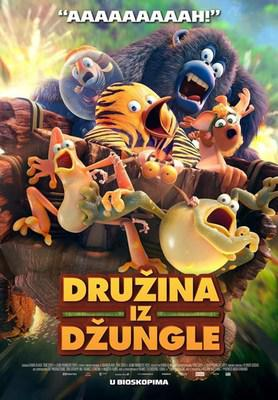 The Jungle Bunch - La Panda de la selva - Poster - Serbia