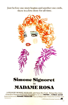 Madame Rosa - Poster - USA