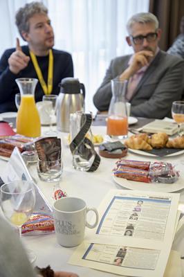 Les petits-déjeuners d'UniFrance au festival de Clermont-Ferrand