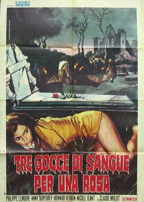 La Rose écorchée - Poster Italie