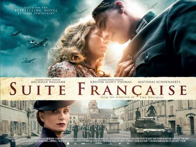 Suite française - Poster - United Kingdom