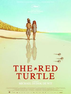 La tortuga roja - Poster US