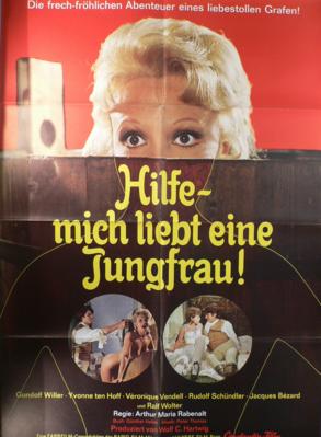 Une pucelle en or - Poster - Allemagne