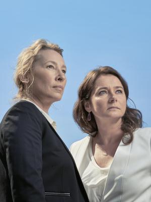 Portfolio from the 2016 Toronto Film Festival by Jean-Baptiste Le Mercier - Emmanuelle Bercot et Sidse Babett Knudsen - © Jean-Baptiste Le Mercier