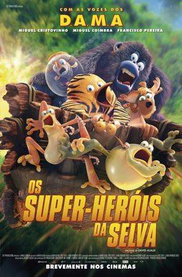 Les As de la jungle (le film) - Poster - Portugal