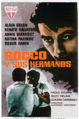 Rocco and His Brothers - Poster Espagne3
