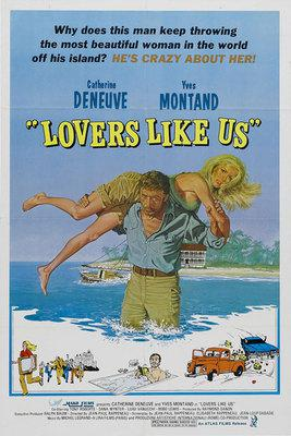 Lovers Like Us / Call Me Savage - Poster Etats-Unis