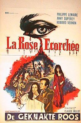 La Rose écorchée - Poster Belgique