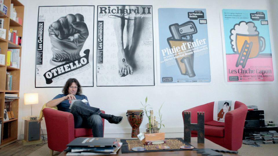 Michel Bouvet affichiste