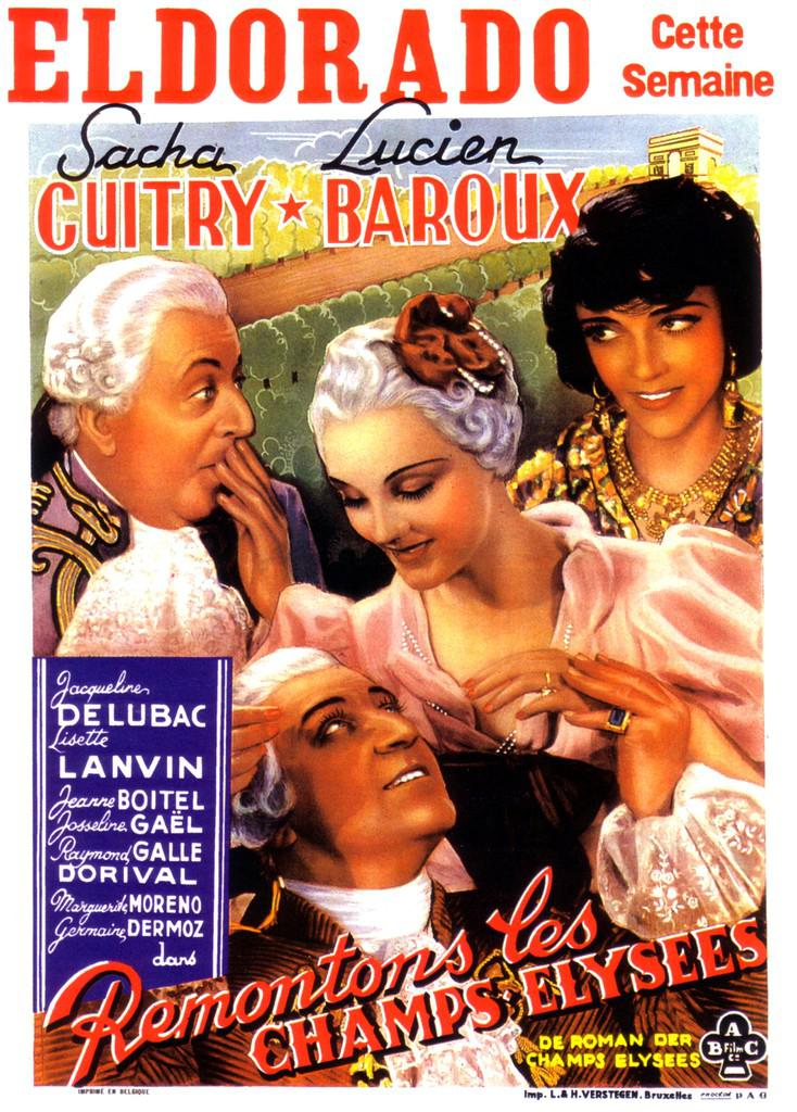 Jean Bourdin - Poster Belgique