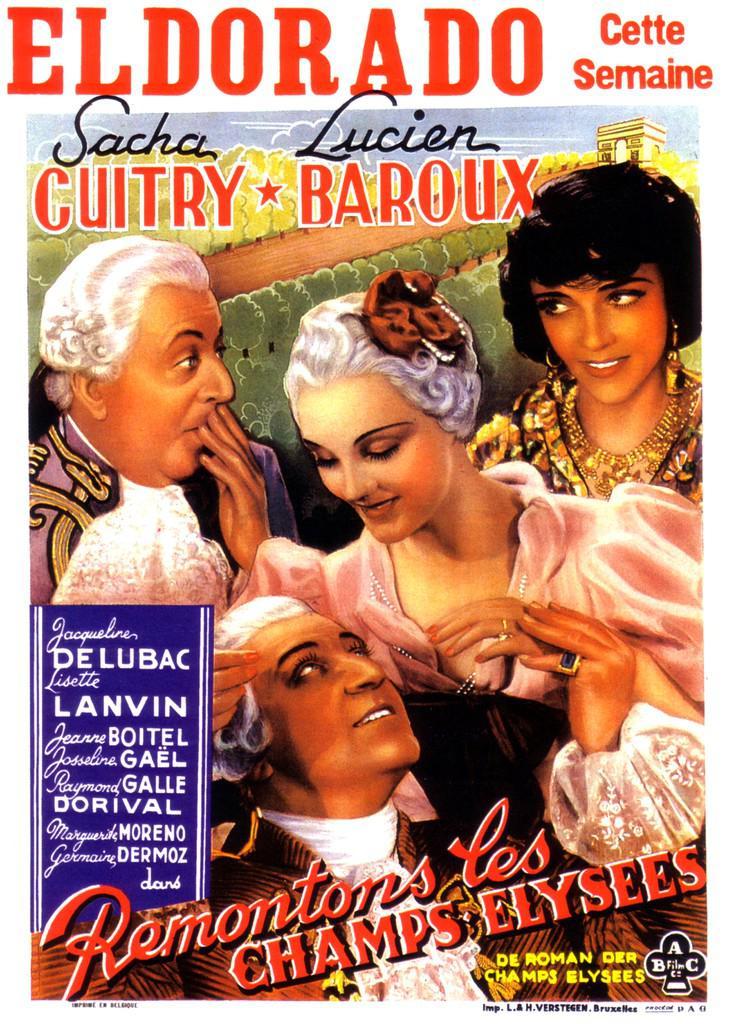 Jean Bradin - Poster Belgique