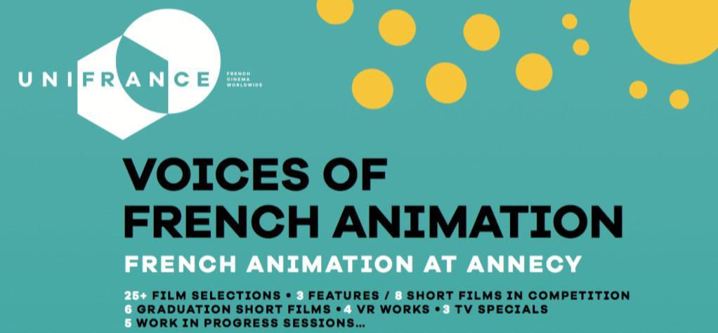 Eventos organizados por UniFrance durante el Festival de Annecy