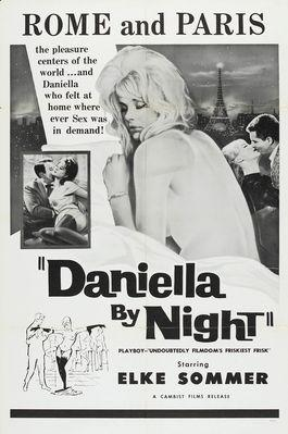 Daniella at Night - Poster Etats-Unis