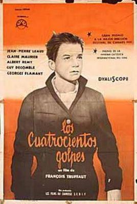 Les Quatre Cents Coups - Poster Argentine
