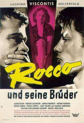Rocco and His Brothers - Poster Allemagne